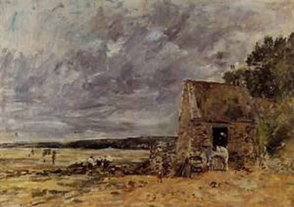The Rocks at Saint Vaast la Hougue 1892